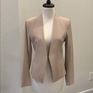 Theory Lanai Stretch Wool Open Blazer
